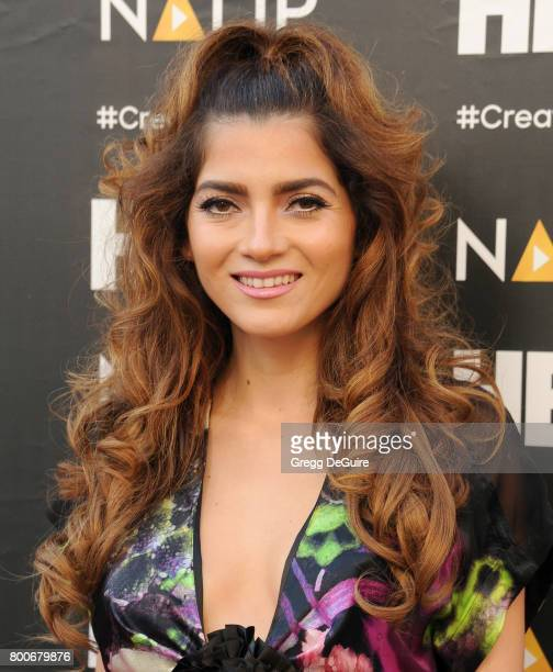 Blanca Blanco arrives at the NALIP 2017 Latino Media Awards at The Ray Dolby Ballroom at Hollywood Highland Center on June 24 2017 in Hollywood...