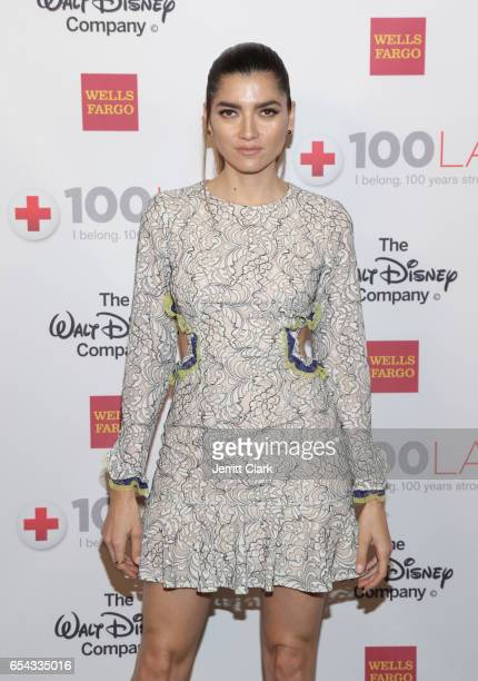 Blanca Blanco attend the American Red Cross Centennial Celebration To Honor Disney As 'Humanitarian Company Of The Year' at the Beverly Wilshire Four...