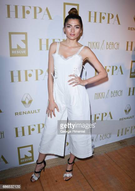 Blanca Blanco attends the Hollywood Foreign Press Association's 2017 Cannes Film Festival Event in honour of the International Rescue Committee...