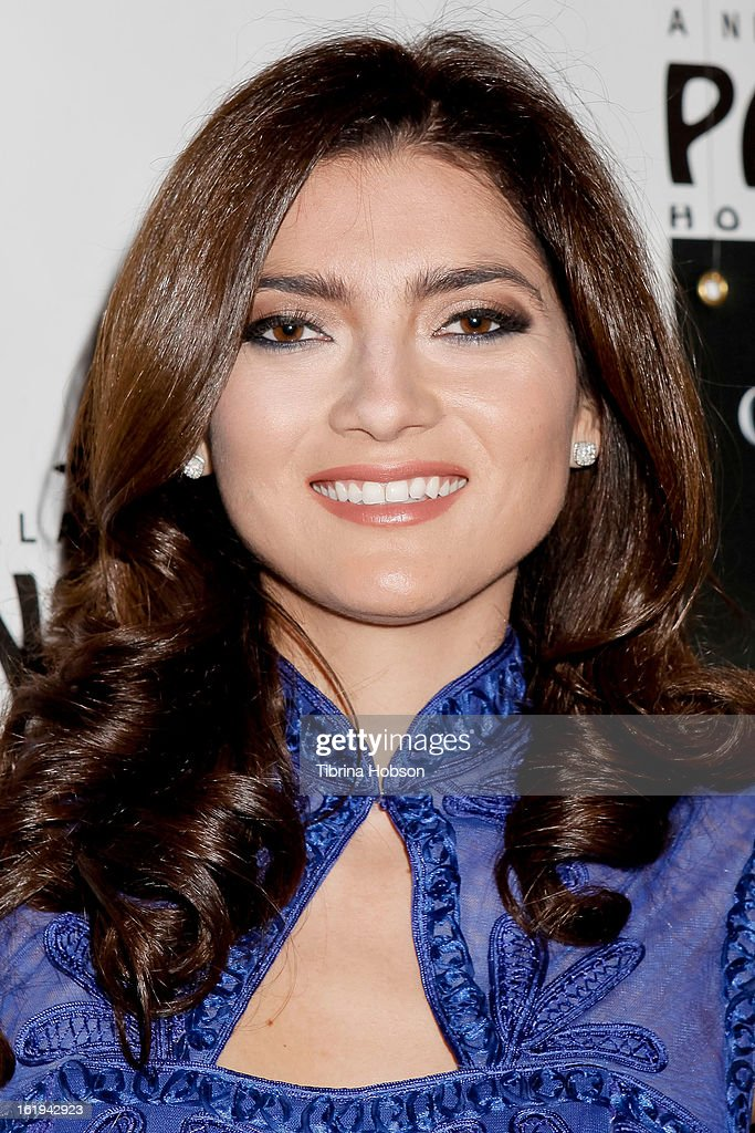 Blanca Blanco attends the 'Jekyll & Hyde' Los Angeles play opening at the Pantages Theatre on February 12, 2013 in Hollywood, California.