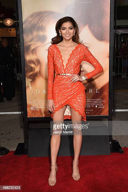 Blanca Blanco attends the premiere of Focus Features' 'The Danish Girl' at Westwood Village Theatre on November 21 2015 in Westwood California