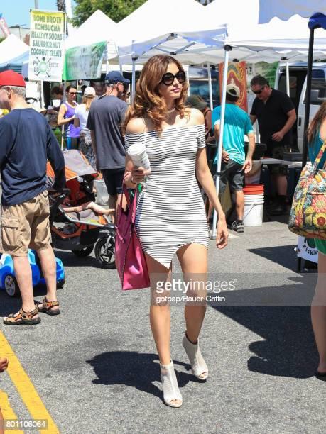 Blanca Blanco is seen on June 25 2017 in Los Angeles California