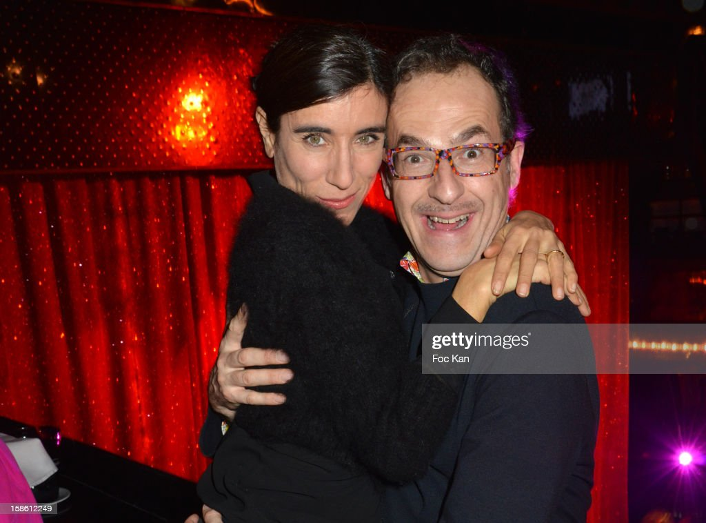 Blanca Li and Emmanuel de Brantes attend the 'Joyeux Paradis' Party by Emmanuel d'Orazio & Marc Zaffuto at Le Paradis Latin on December 20, 2012 in Paris, France.