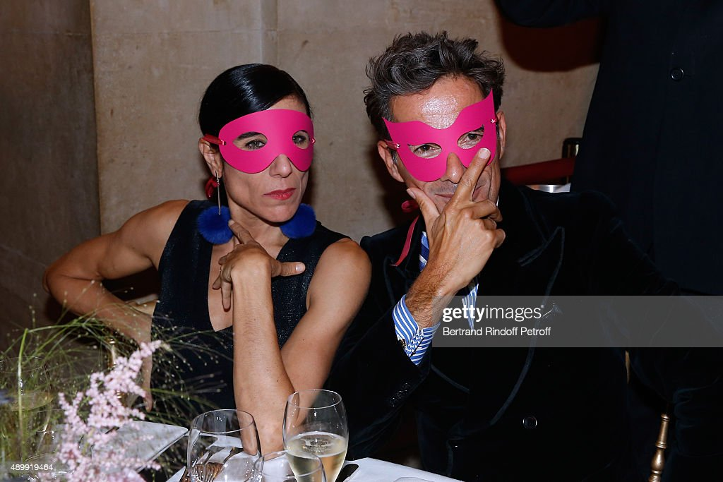 Blanca Li and Vincent Darre attend the Ballet National de Paris Opening Season Gala at Opera Garnier on September 24, 2015 in Paris, France.