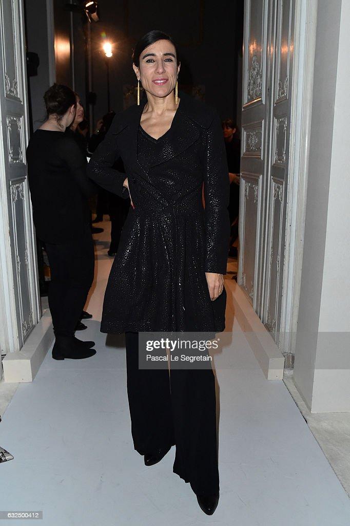 Giambattista Valli : Front Row - Paris Fashion Week - Haute Couture Spring Summer 2017