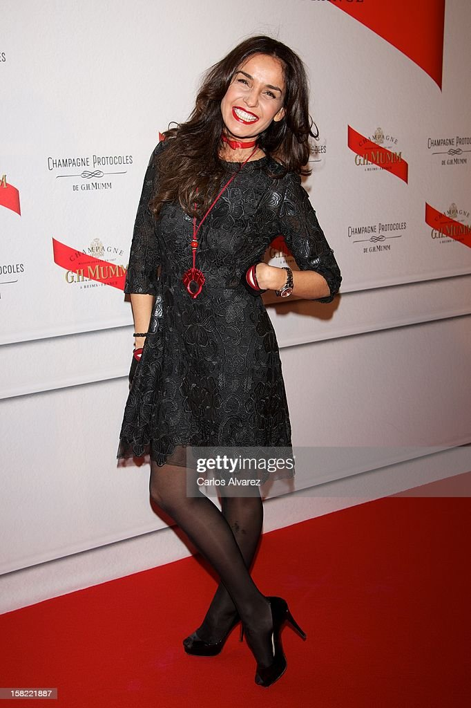Blanca Marsillach attends the 'Maison Mumm' inauguration at the Santo Mauro Hotel on December 11, 2012 in Madrid, Spain.
