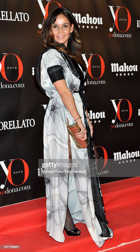 Blanca Marsillach attends 'Yo Dona' magazine mask party on February 18, 2013 in Madrid, Spain.
