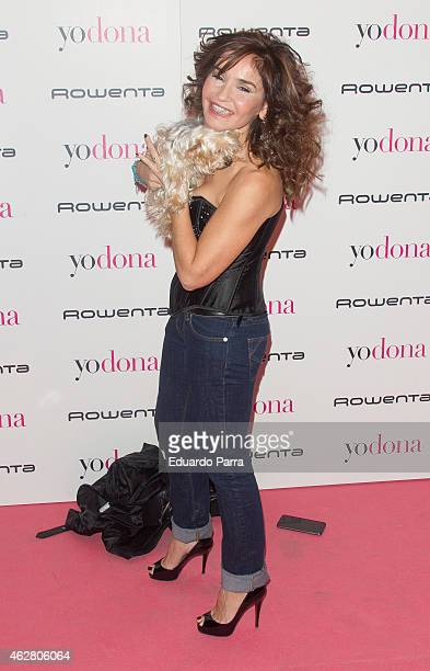 Blanca Marsillach attends 'Yo Dona' party photocall at Shoko disco on February 5 2015 in Madrid Spain
