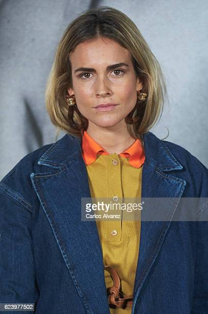 Blanca Miro attends 'LOEWE Past Present Future' exhibition at Jardin Botanico on November 17 2016 in Madrid Spain