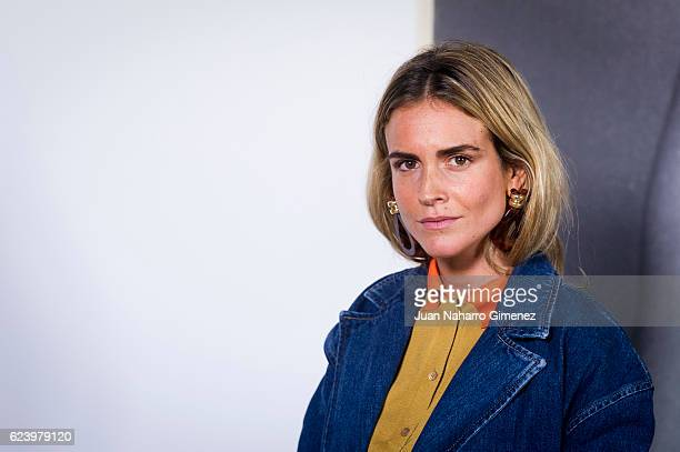 Blanca Miro attends the 'LOEWE Past Present Future' inauguration exhibition at Jardin Botanico on November 17 2016 in Madrid Spain