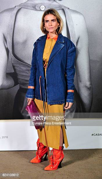Blanca Miro attends the opening of the exhibition 'LOEWE Past Present Future' at Botanic Garden on November 17 2016 in Madrid Spain