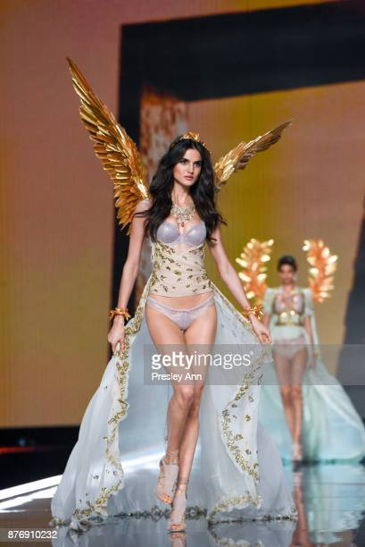 Blanca Padilla attends 2017 Victoria's Secret Fashion Show In Shanghai Show at MercedesBenz Arena on November 20 2017 in Shanghai China