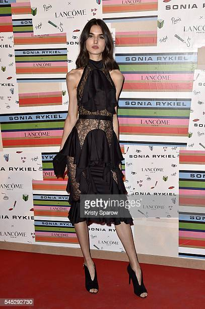Blanca Padilla attends the Sonia Rykiel Lancome Paris Party as part of Paris Fashion Week on July 6 2016 in Paris France