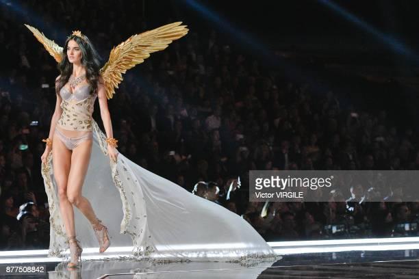 Blanca Padilla walks the runway at the 2017 Victoria's Secret Fashion Show In Shanghai Show at MercedesBenz Arena on November 20 2017 in Shanghai...