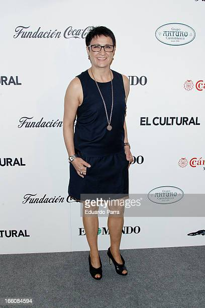 Blanca Portillo attends ValleInclan awards photocall at Royal Theatre on April 8 2013 in Madrid Spain