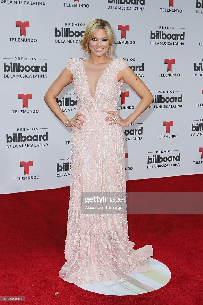Blanca Soto attends the Billboard Latin Music Awards at Bank United Center on April 28, 2016 in Miami, Florida.