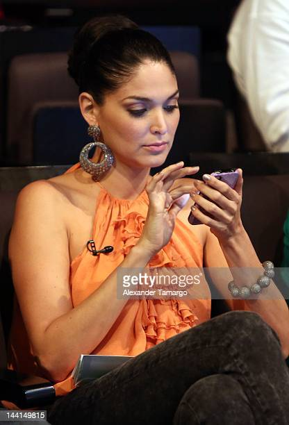 Blanca Soto attends Univision's Premios Juventud Awards nominations announcement on May 10 2012 in Miami Florida
