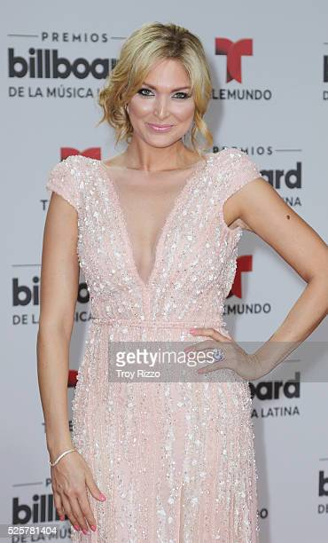 Blanca Soto is seen arriving to the Billboard Latin Music Awards at the Bank United Center on April 28 2016 in Miami Florida