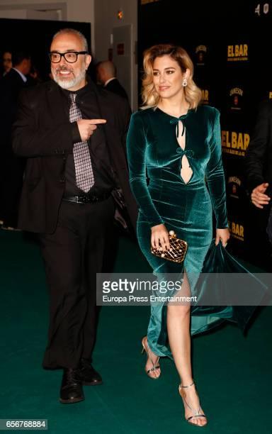 Blanca Suarez and Alex de la Iglesia attend 'El Bar' premiere at Callao cinema on March 22 2017 in Madrid Spain