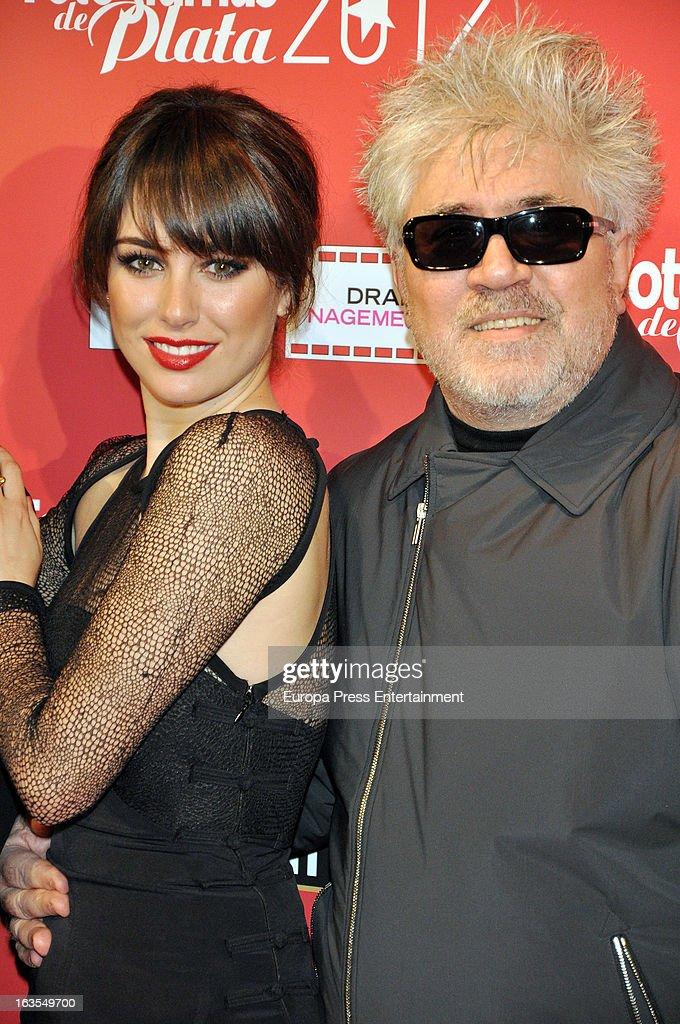 Blanca Suarez and Pedro Almodovar attend Fotogramas Awards 2013 at Joy Eslava Clubon March 11 2013 in Madrid Spain