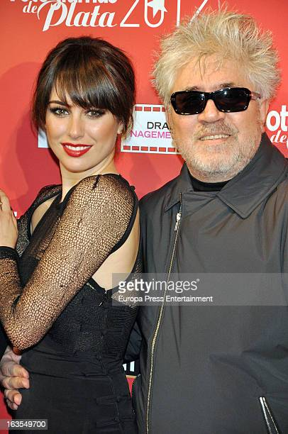 Blanca Suarez and Pedro Almodovar attend Fotogramas Awards 2013 at Joy Eslava Clubon March 11 2013 in Madrid Spain