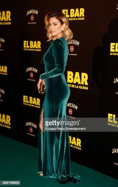 Blanca Suarez attends 'El Bar' premiere at Callao cinema on March 22 2017 in Madrid Spain