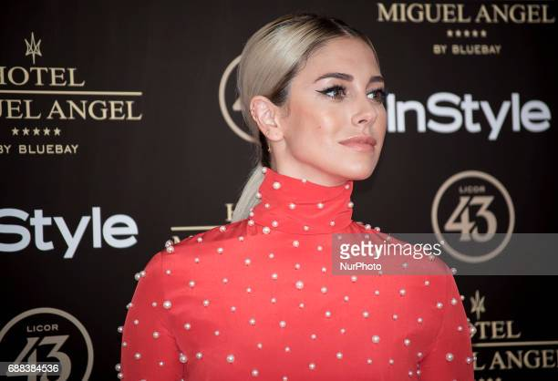 Blanca Suarez attends El Jardin del Miguel Angel party photocall at Miguel Angel hotel on May 24 2017 in Madrid Spain