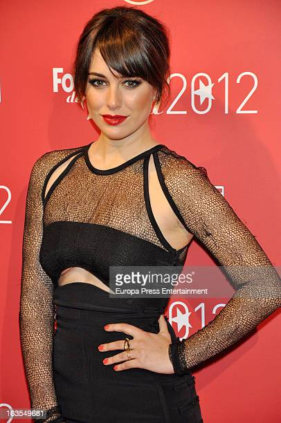 Blanca Suarez attends Fotogramas Awards 2013 at Joy Eslava Clubon March 11 2013 in Madrid Spain