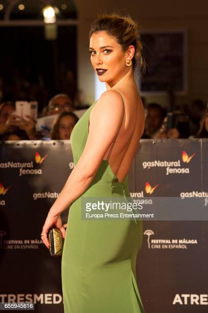 Blanca Suarez attends the 20th Malaga Film Festival 2017 opening ceremony at the Cervantes Theater on March 17 2017 in Malaga Spain