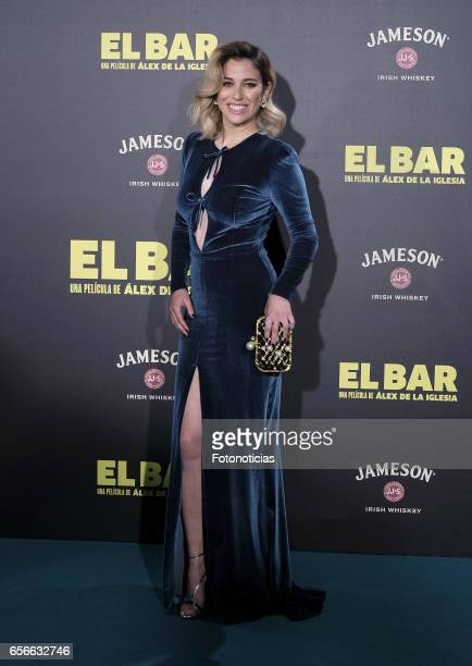 Blanca Suarez attends the 'El Bar' premiere at Callao cinema on March 22 2017 in Madrid Spain