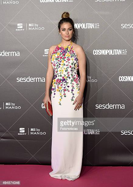Blanca Suarez attends the VIII Cosmpolitan Awards at The Ritz Hotel on October 27 2015 in Madrid Spain