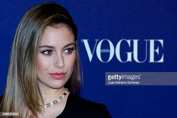 Blanca Suarez attends 'Vogue Joyas' awards 2015 at Ritz Hotel on November 24 2015 in Madrid Spain