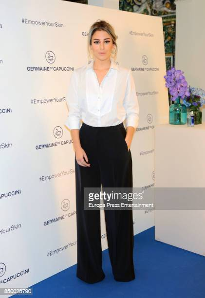 Blanca Suarez is presented as new image for Germaine de Capuccini on September 20 2017 in Madrid Spain
