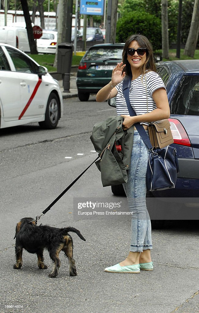 <a gi-track='captionPersonalityLinkClicked' href=/galleries/search?phrase=Blanca+Suarez&family=editorial&specificpeople=4708287 ng-click='$event.stopPropagation()'>Blanca Suarez</a> is seen on May 28, 2013 in Madrid, Spain.