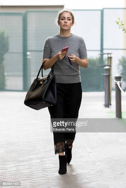 Blanca Suarez is spotted out on September 27 2017 in Madrid Spain