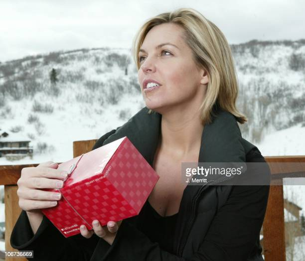 Blanchard Ryan and Lather during 2004 Sundance Film Festival Hot House Day 5 at Deer Valley Private Residence in Deer Valley Utah United States
