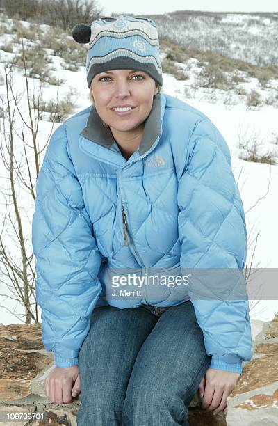 Blanchard Ryan and The North Face during 2004 Sundance Film Festival Hot House Day 5 at Deer Valley Private Residence in Deer Valley Utah United...
