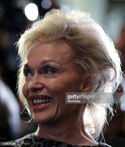 Blanche d�Alpuget author attends the launch of her book 'Hawke The Prime Minister' in Sydney Australia on Monday July 12 2010 Australian Prime...