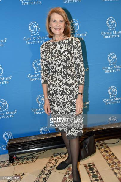 Blanche Podhajski attends the Child Mind Institute 2017 Child Advocacy Award Dinner at Cipriani 42nd Street on November 20 2017 in New York City