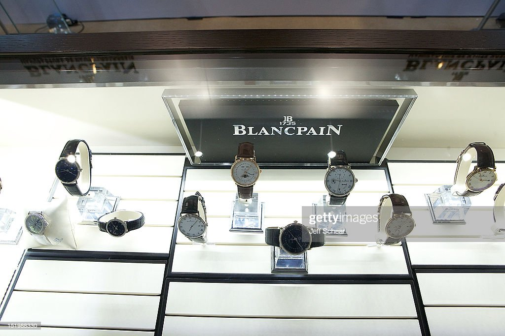 Blancpain at Time Crafters on September 13 2012 in New York City