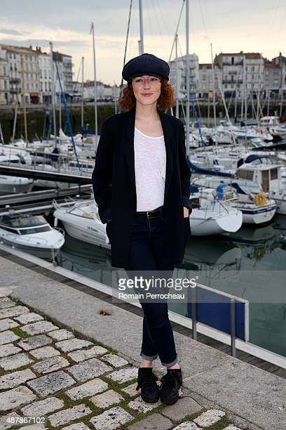 Blandine Bellavoir attends a Photocall as part of the 17th Festival of TV Fiction of La Rochelle on September 12 2015 in La Rochelle France