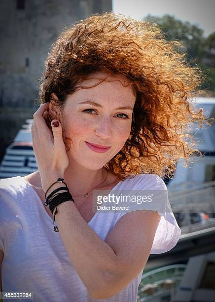 Blandine Bellavoir attends the photocall of 'Les Petits Meutres' as part of 16th Festival of TV Fiction of La Rochelle on September 12 2014 in La...