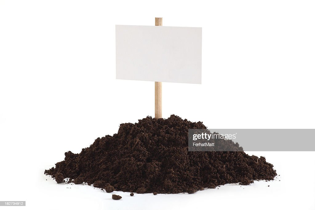 Blank as a Sign from Soil.