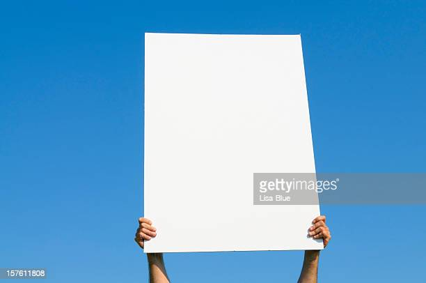 Blank Billboard against Blue Sky, Copy Space