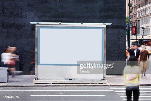 Blank Billboard - NYC