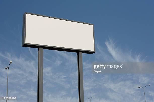 Leeren billboard