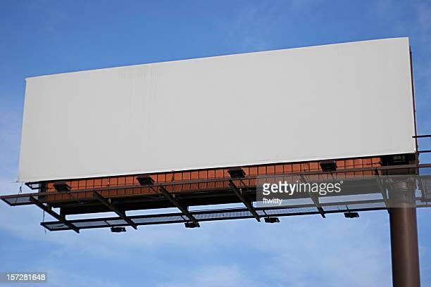 Blank Billboard Sign