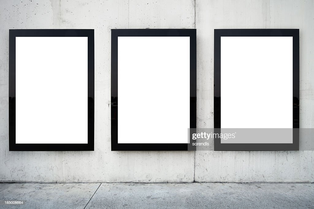 Blank Billboards XXL