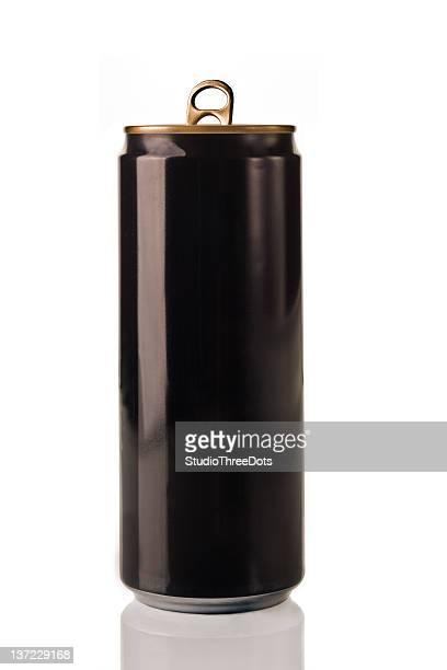 Blank Black Can