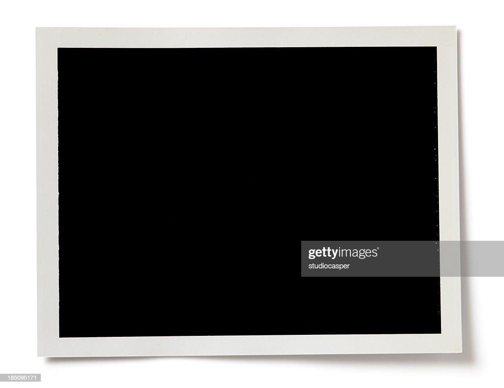 Leere Fotos auf Weiß : Stock-Foto